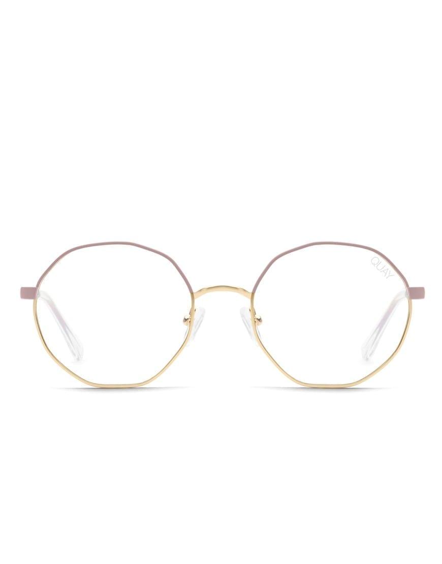 Quay Australia Eclectic Pink Gold blue light ehk sinise valguse prillid.