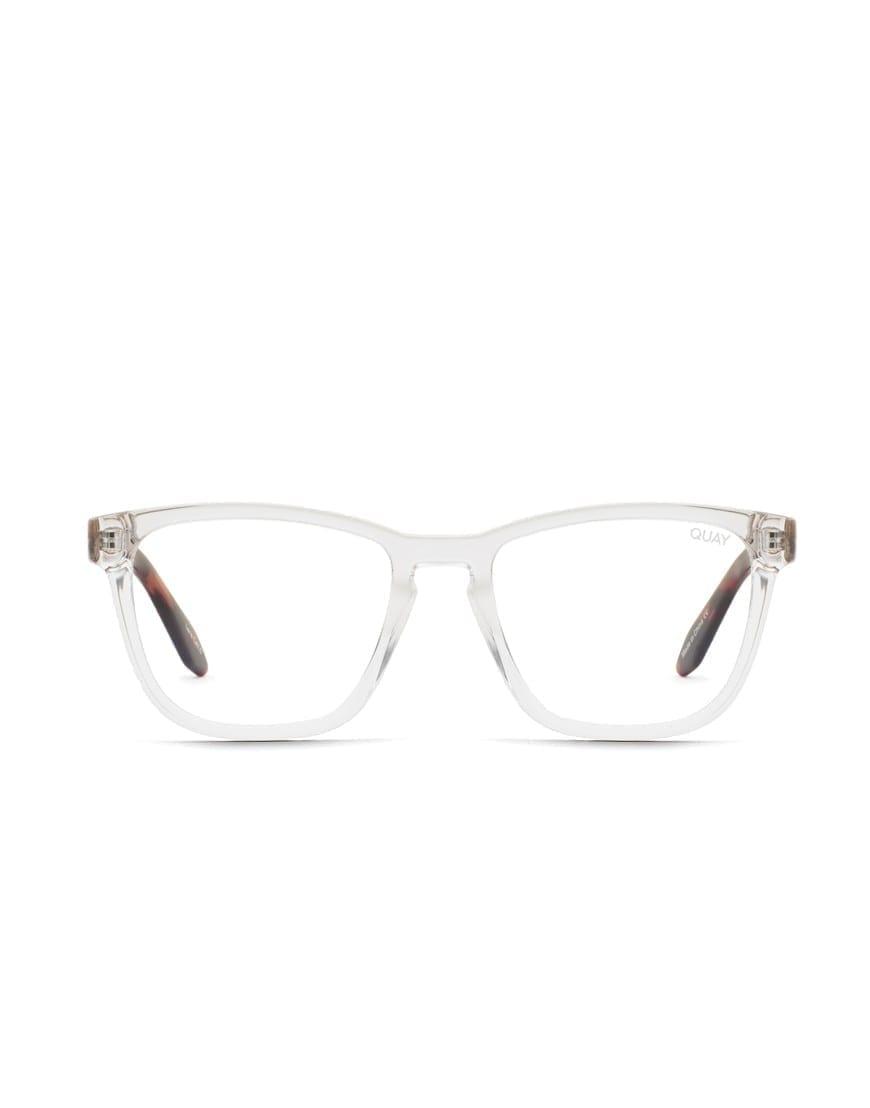 Quay Australia Hardwire Clear/Tort blue light ehk sinise valguse prillid.