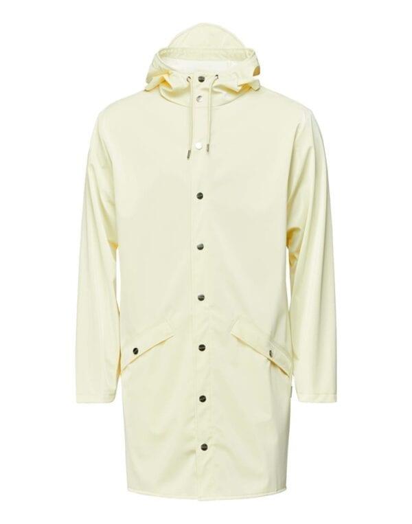 Rains Outerwear Long Jacket Pearl