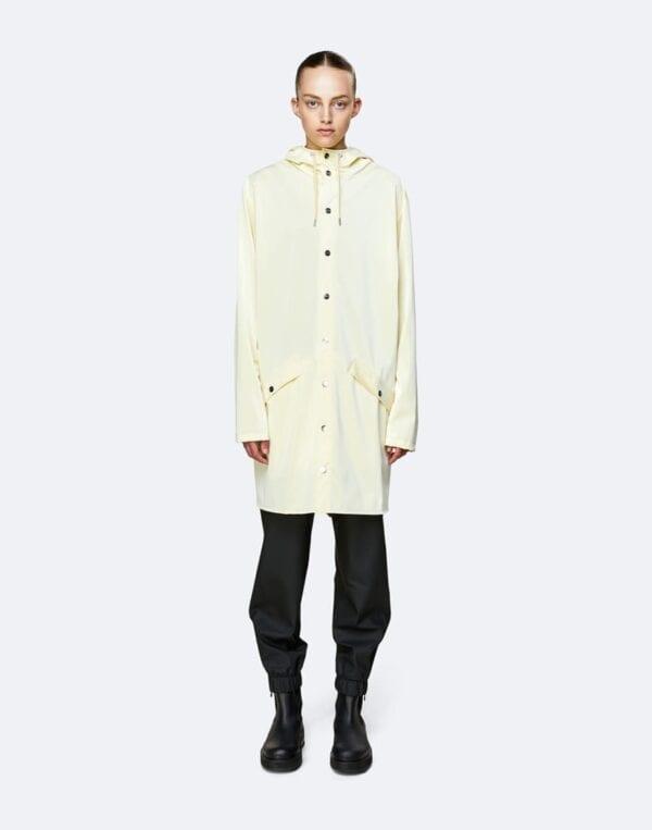 Rains Ülerõivad Long Jacket Pearl