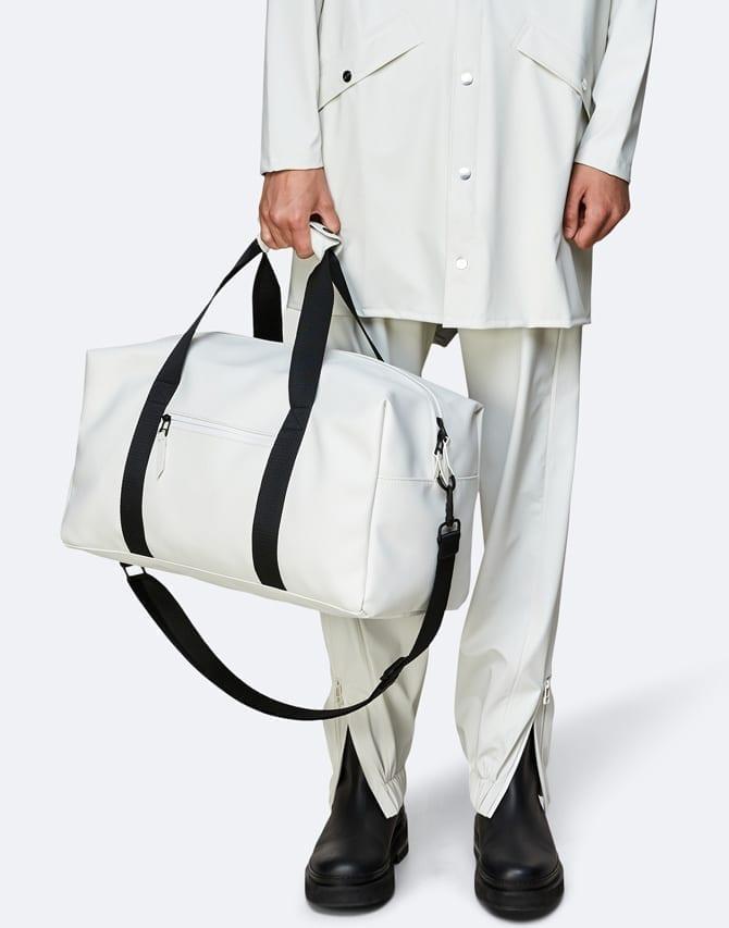 RainsBagsGym Bag Off White