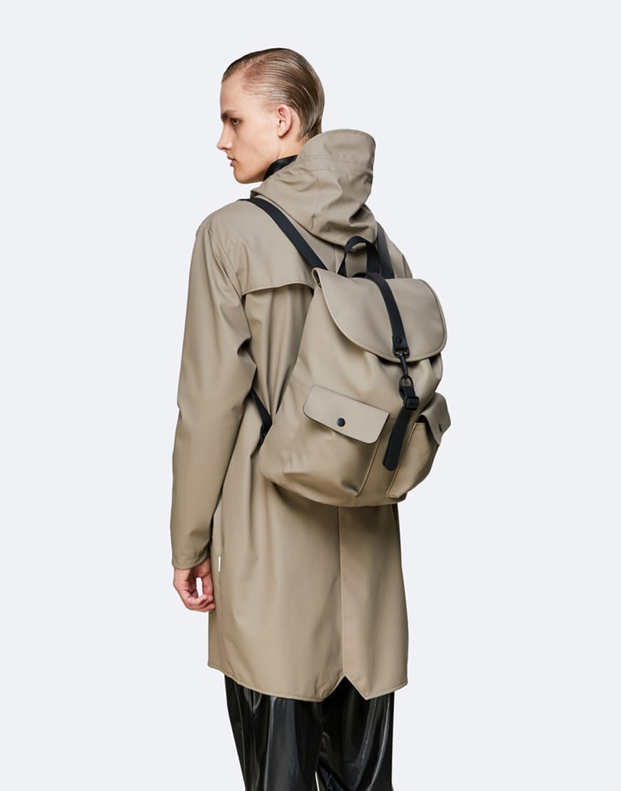 RainsBagsCamp Backpack Taupe
