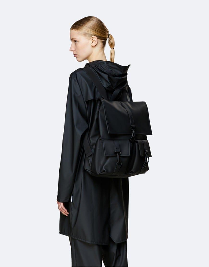 RainsBagsMSN Cargo Black