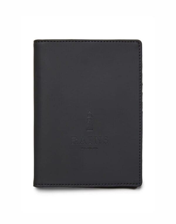 RainsPassport Holder Black1646-01