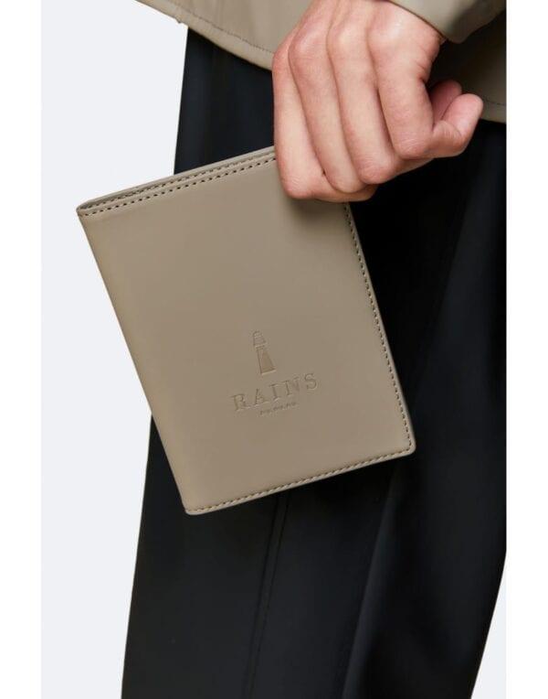 RainsTravel accessoriesPassport Holder Taupe