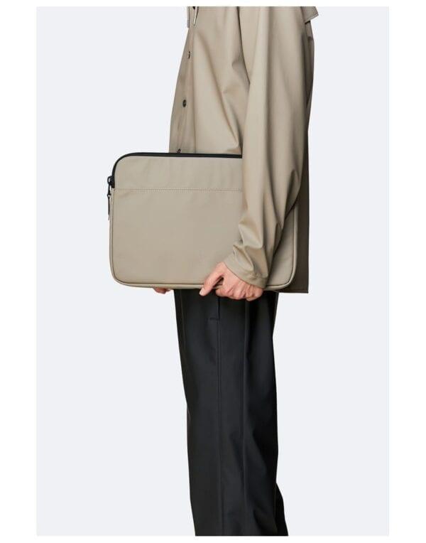 "RainsLaptop casesLaptop Case 15"" Taupe"