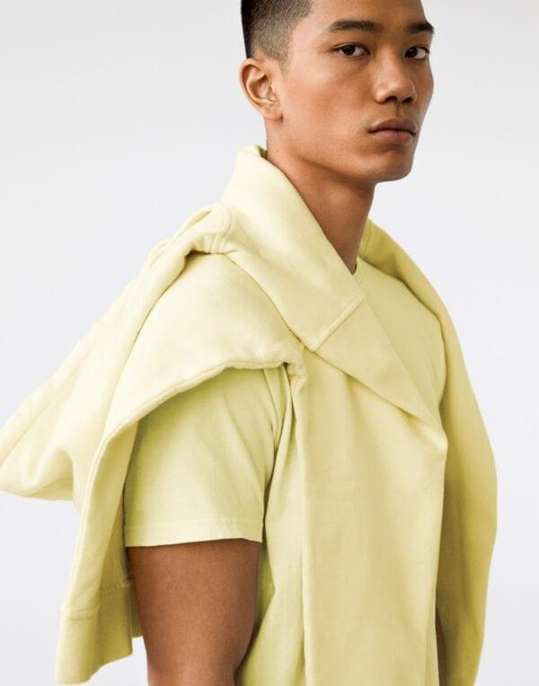 Classic Organic T-särk Soft Yellow SOFT YELLOW