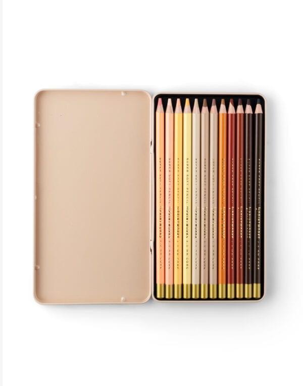 PrintWorks Market Värvipliiatsid - Skin tone