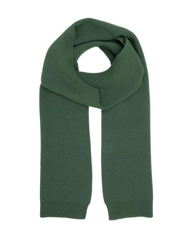 Colorful Standard Meriinovillane Sall / Merino Wool Scarf Emerald Green
