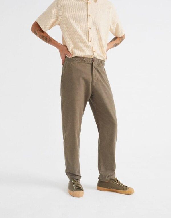 Thinking MU Men Green Travel Pants