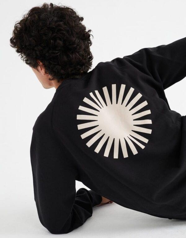 Thinking MU Mehed Kampsunid ja pusad Sol Black Sweatshirt