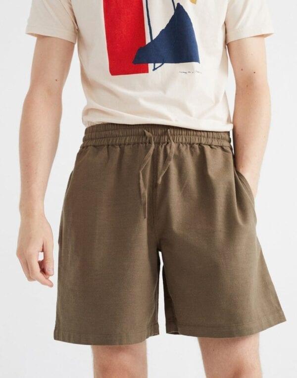 Thinking MU Men Green Henry Shorts