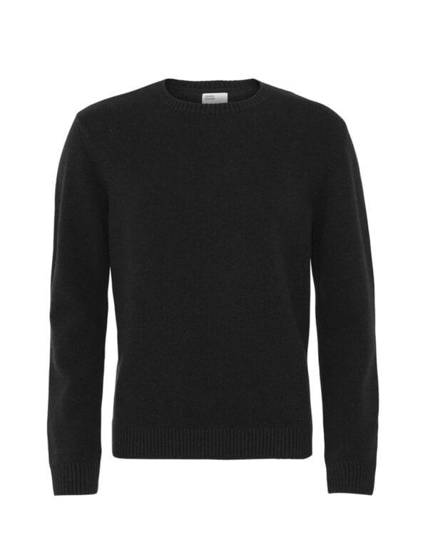 Colorful Standard Merino Wool Crew Deep Black Deep Black