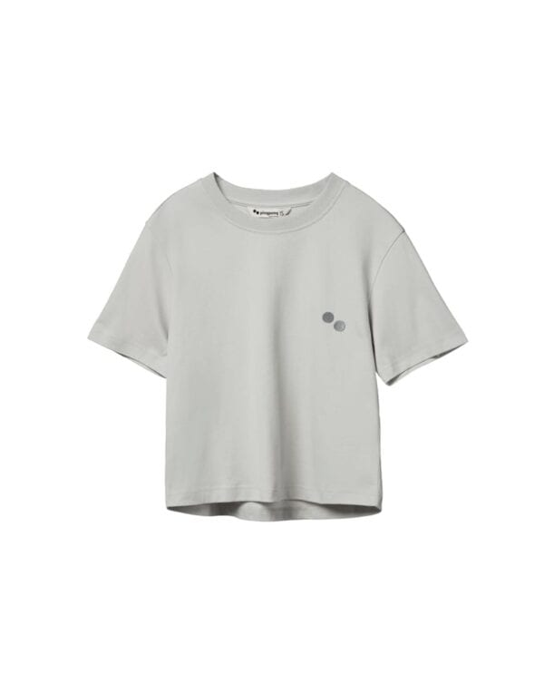 pinqponq T-Shirt Women Limestone Grey