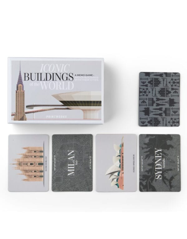 PrintWorks Market Memo game - Iconic buildings