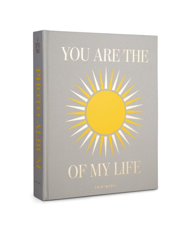 PrintWorks Market Photo Album - You are the Sunshine