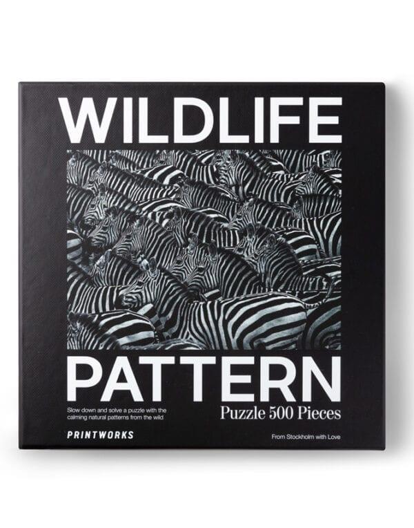 PrintWorks Market Puzzle - Zebra