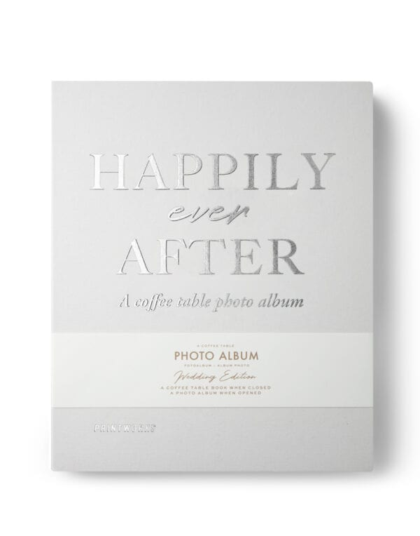PrintWorks Market Photo Album - Happily Ever After (Ivory)