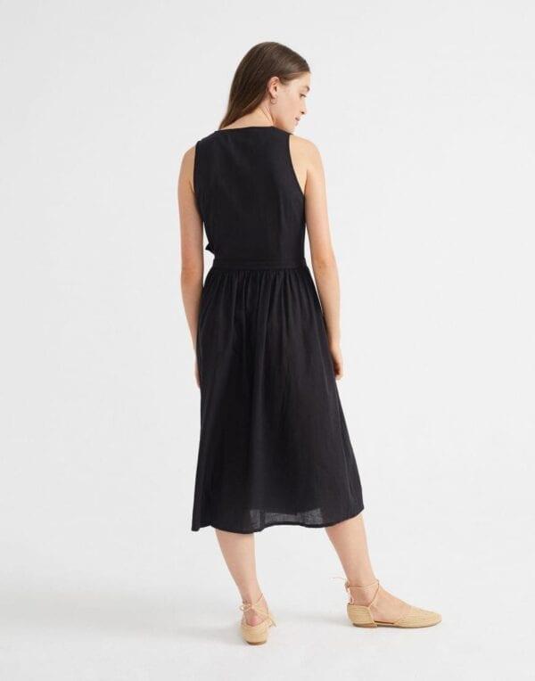Thinking MU Naised Kleidid ja seelikud Black Amapola Dress