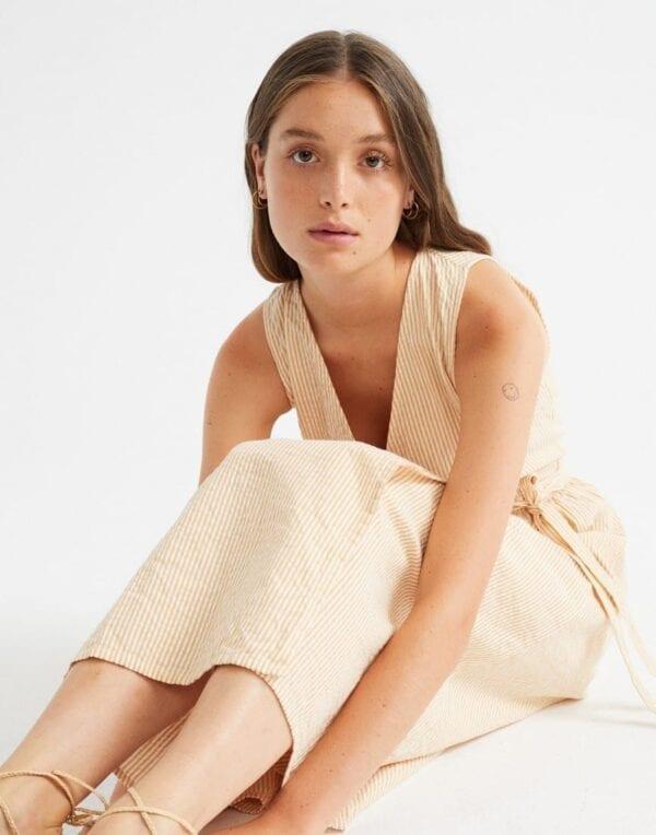 Thinking MU Naised Kleidid ja seelikud Seersucker Amapola Dress