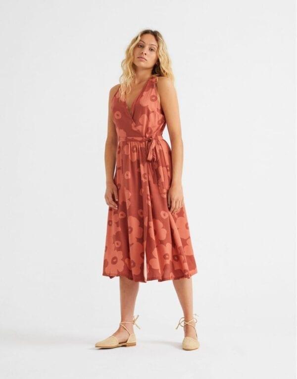 Thinking MU Naised Kleidid ja seelikud Big Flowers Teja Amapola Dress