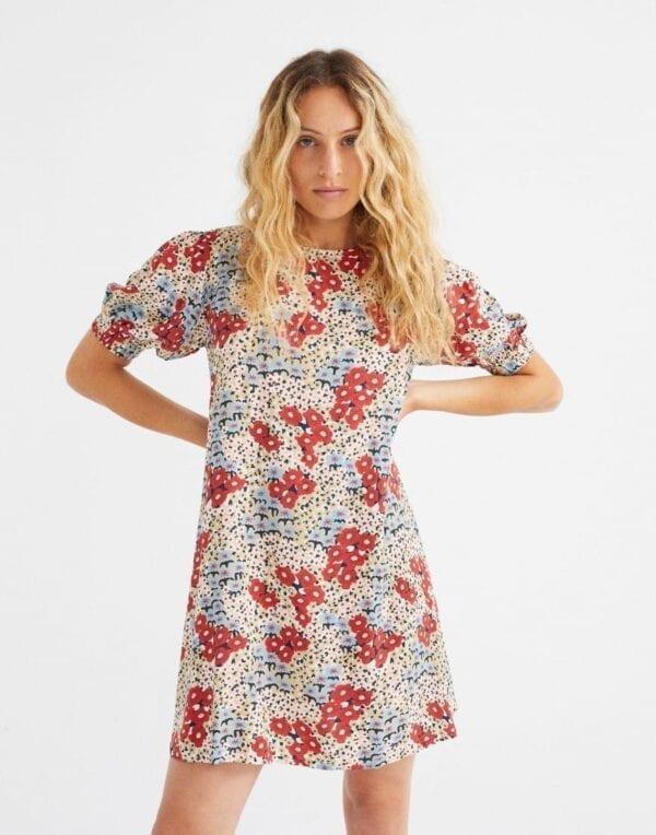 Thinking MU Women Small Flowers Floreta Dress
