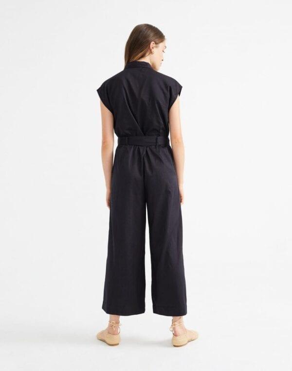 Thinking MU Naised Pükskostüümid Black Malawi Jumpsuit