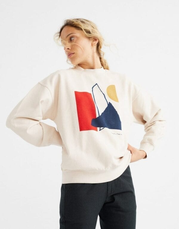 Thinking MU Women Abstract Sweatshirt