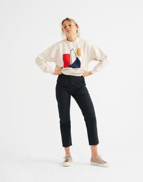 Thinking MU Naised Kampsunid ja pusad Abstract Sweatshirt