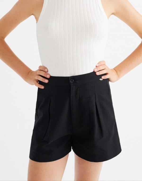 Thinking MU Women Black Narciso Shorts