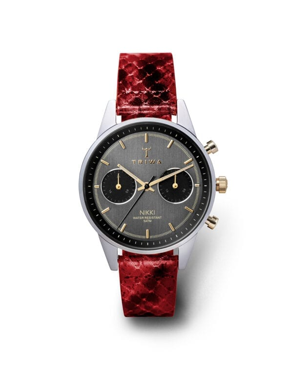 Triwa Watches Red Snake Nikki Reptile Red Super Slim watch