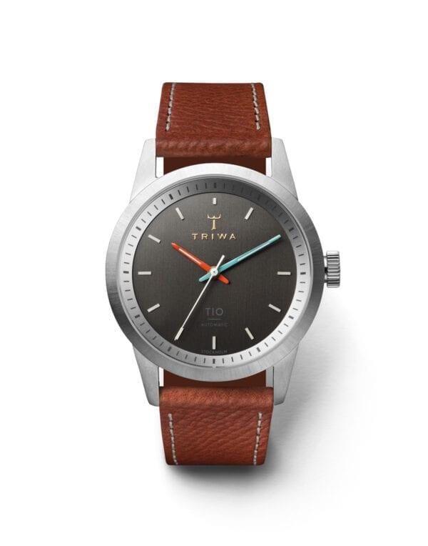 Triwa Watches TIO Tumbled Brown Sewn Classic 2 watch