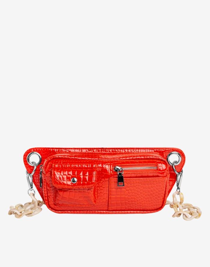 Hvisk Waist bags Brillay Croco Orange/red