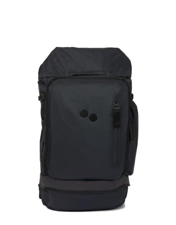 Pinqponq Komut Medium Pure Black Backpack