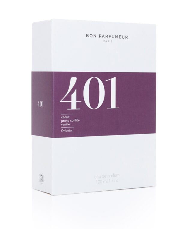 Bon Parfumeur Parfüümid Eau de parfum 401: cedar/candied plum/vanilla