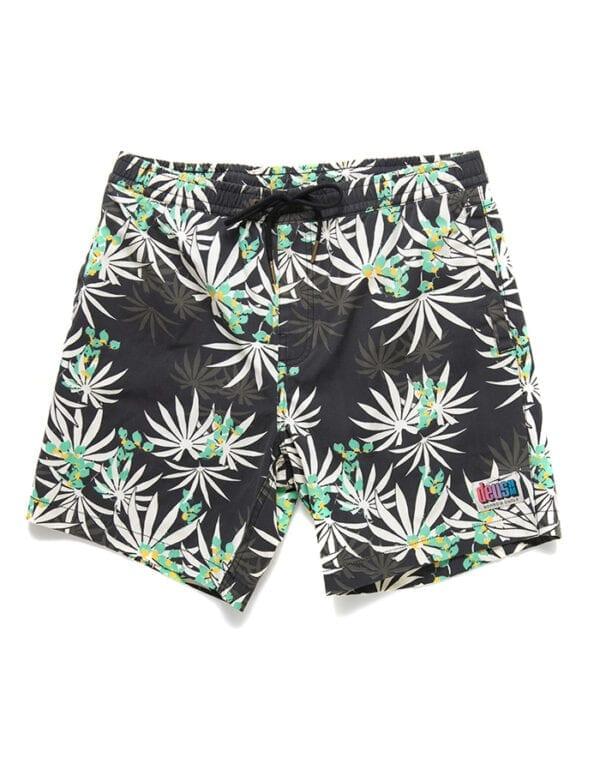 Deus Ex Machina Sandbar Monkey Puzzle shorts Pants