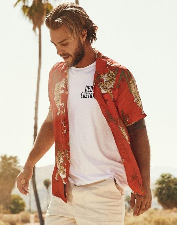 Deus Ex Machina Solstice Short Sleeve Shirt Men's Summer Shirts