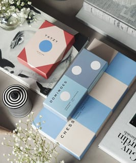 Exciting products for home - home decor, board games and photo albums
