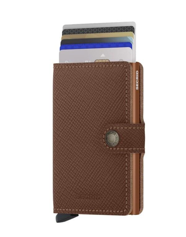 Secrid Wallets & cardholders Miniwallet Saffiano Caramel