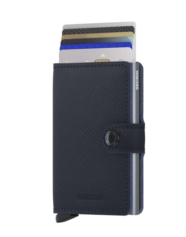 Secrid Wallets & cardholders Miniwallet Saffiano Navy