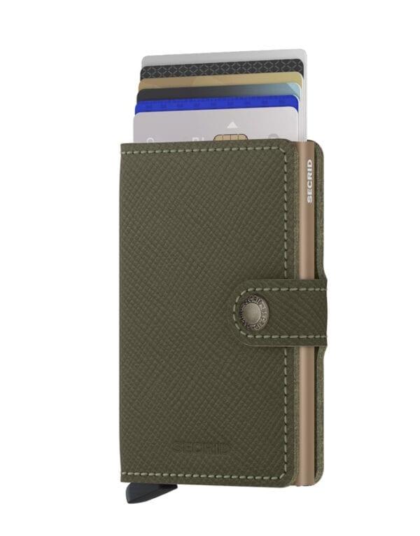 Secrid Wallets & cardholders Miniwallet Saffiano Olive