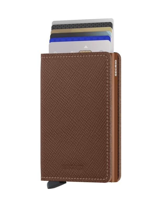 Secrid Wallets & cardholders Slimwallet Saffiano Caramel