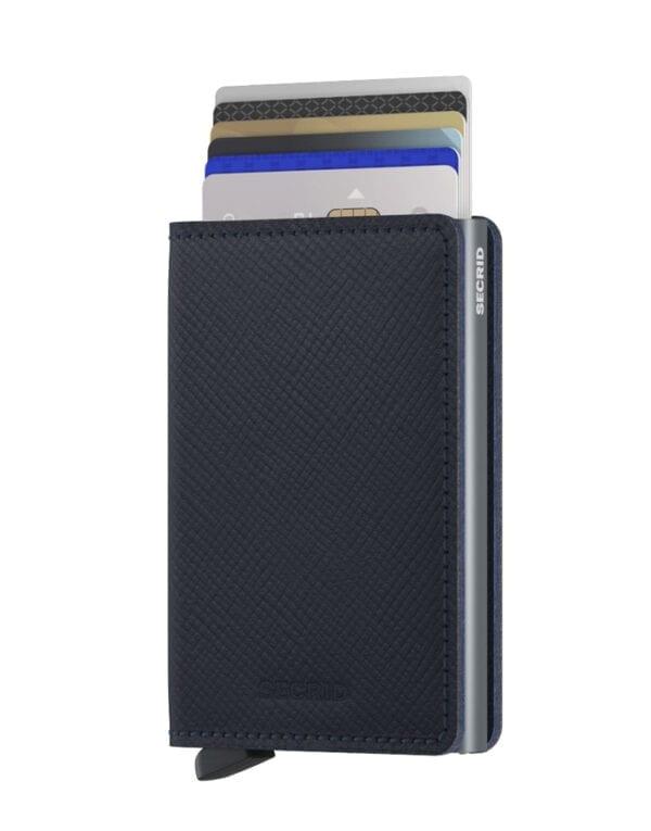 Secrid Wallets & cardholders Slimwallet Saffiano Navy