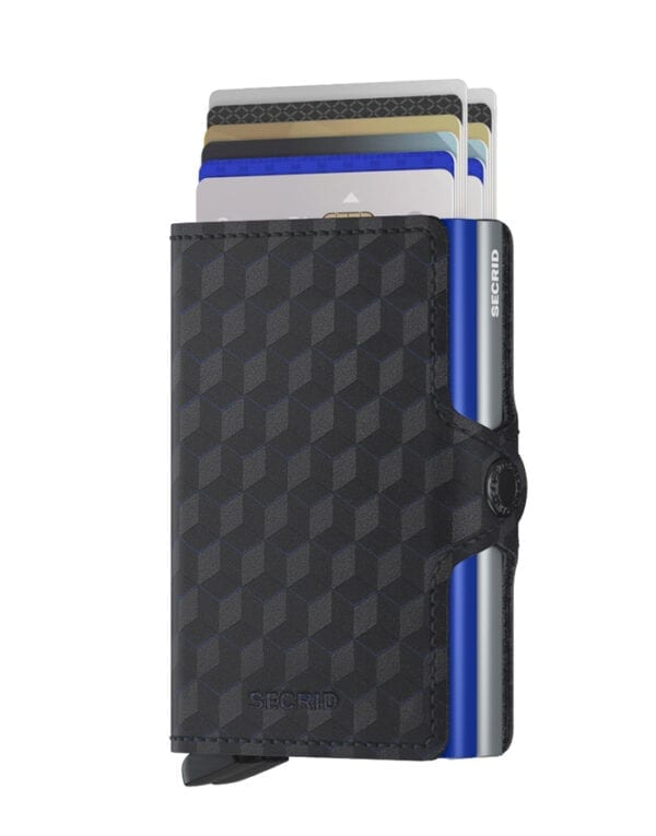 Secrid Wallets & cardholders Twinwallet Optical Titanium-Blue