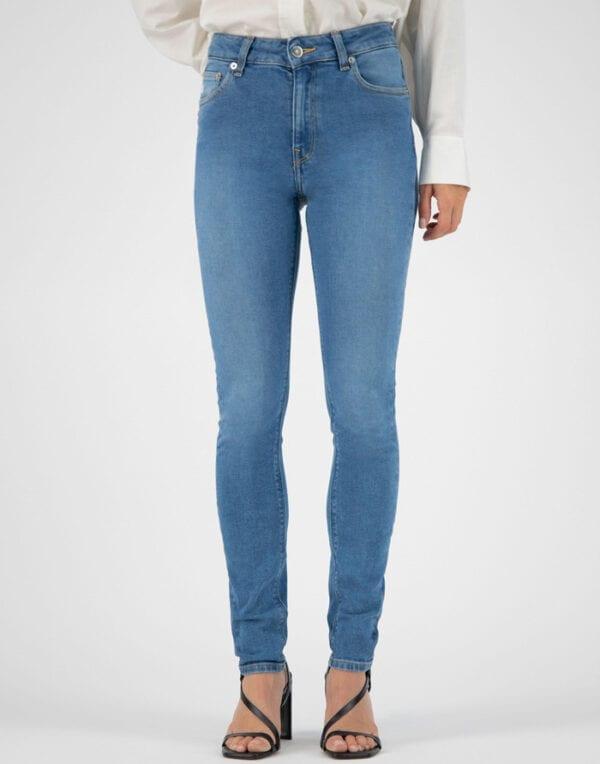 MUD Jeans Skinny Hazen Pure Blue Jeans Women Pants
