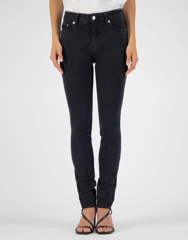 MUD Jeans Skinny Hazen Stone Black Jeans Women Pants
