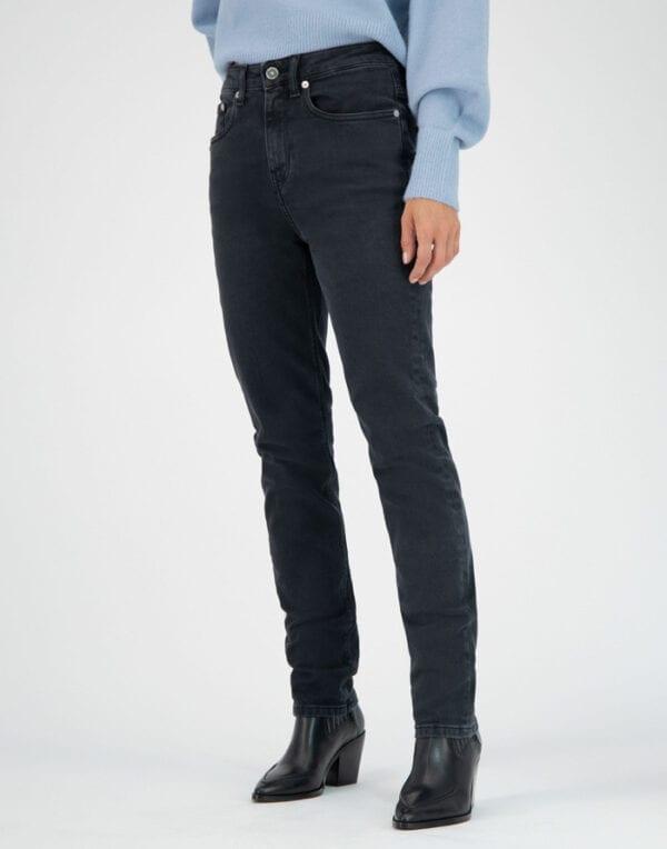 MUD Jeans Stretch Mimi Stone Black Jeans Women Pants