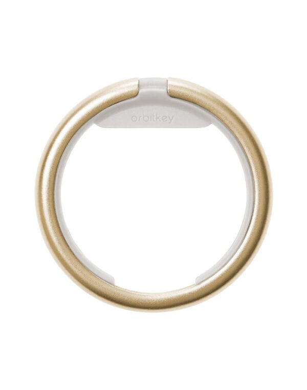 Orbitkey Keychains Ring Yellow Gold