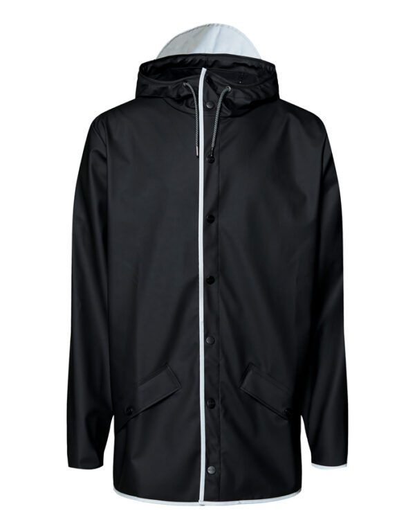 Rains Outerwear for Men and Women Jacket Black Reflective 1201-70