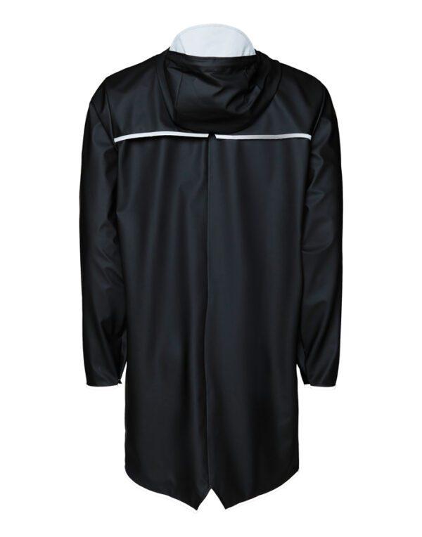 Rains Mehed ja Naised Ülerõivad Long Jacket Black Reflective 1202-70